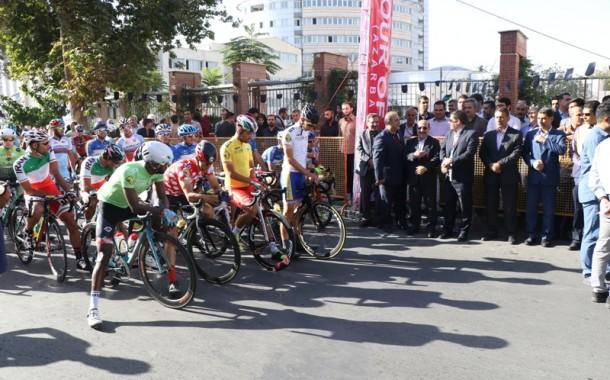 آغاز تور دوچرخه سواری ایران - آذربایجان در ارومیه + تصاویر