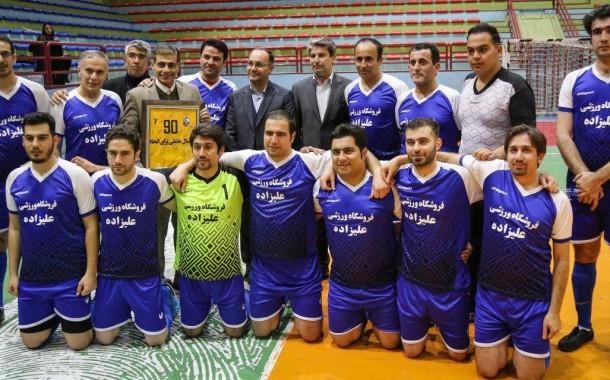 گزارش دیدار دوستانه فوتسال تیم های منتخب خبرنگاران و نود ارومیه + تصاویر