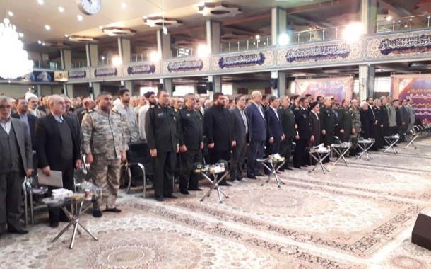 برگزاری یادواره شهدای بدر و خیبر با حضور دبیر شورای عالی امنیت ملی + تصاویر