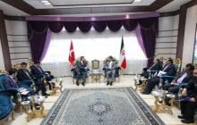 جزئیات دیدار استاندار آذربایجان غربی با سفیر جدید ترکیه در ایران + تصاویر