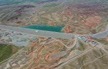 آغاز عملیات آبگیری و بهرهبرداری از سد مخزنی کرم آباد پلدشت با حضور رئیس جمهور