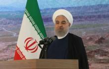 مشروح سخنان مهم روحانی در آیین افتتاح سد کرم آباد پلدشت