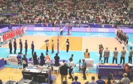 گزارش تصویری مسابقه والیبال بین ایران و کانادا در هفته سوم لیگ جهانی والیبال