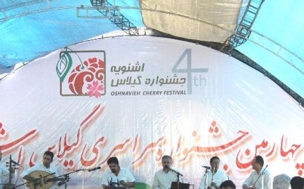 جلوه هایی از چهارمین جشنواره سراسری گیلاس اشنویه به روایت تصویر