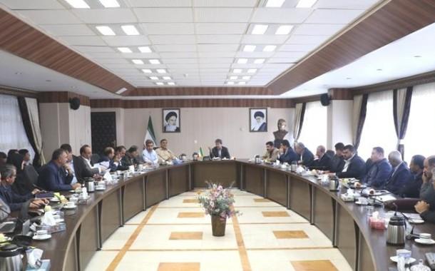 بررسی آخرین وضعیت پروژه های عمرانی با حضور نمایندگان مجلس و مدیران استانی + تصاویر