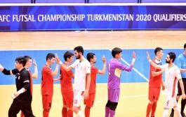 گزارش تصویری دیدار تیم های ملی فوتسال ایران - قرقیزستان در ارومیه