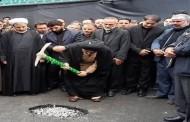 کلنگ زنی طرح توسعه بقعه «محمد بن خلیلان» در ارومیه