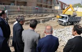 آغاز عملیات اجرایی پروژه خیر ساز ساختمان یکصد تختخوابی دیالیز در ارومیه + تصاویر