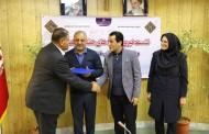 تقدیر رئیس هیات ورزش های ناشنوایان آذربایجان غربی از دبیر هیات فوتبال استان