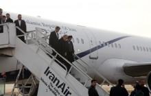 رییس مجلس وارد فرودگاه ارومیه شد + برنامه ها