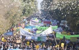 گزارش تصویری راهپیمایی ۱۳ آبان در ارومیه