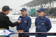 سوخت رسانی بی وقفه در زیر بارش برف و یخبندان در آذربایجان غربی