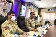فرمانده مرزبانی استان : در تامین امنیت مرزها با کسی شوخی و تعارف نداریم