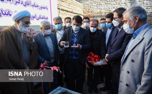 گزارش تصویری افتتاح طرح آبرسانی به ۲۶ روستای آذربایجان غربی
