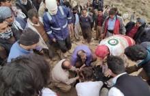 امدادگران نقده ای جان ۳ کوهنورد را از مرگ حتمی نجات دادند