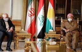 مروری بر دیدار و گفتگوهای ظریف در عراق و اقلیم کردستان + عکس