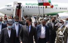 سفر بارزانی به ایران و دیدار با رئیس جمهور + تصاویر