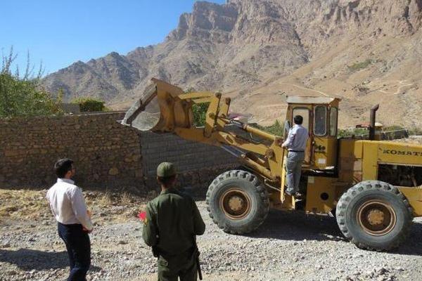 خلع ید ۱۵۰۰ هکتار از اراضی ملی در آذربایجان غربی از تصرف سودجویان