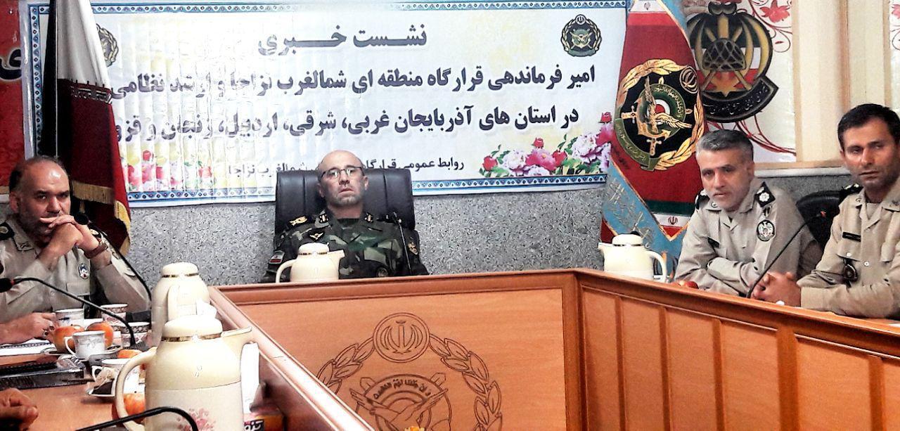 فرمانده ارتش : آماده دفاع و مقابله در برابر هر تهدید نظامی هستیم