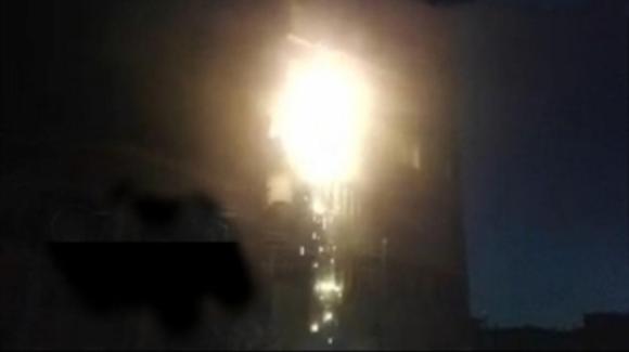 آتش نشانان ارومیه جان ۶ نفر در آتش را نجات دادند