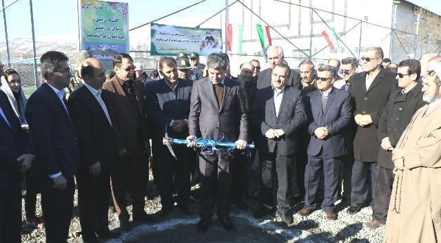 گزارش افتتاح چندین طرح عمرانی ، خدماتی و ورزشی در پیرانشهر + تصاویر