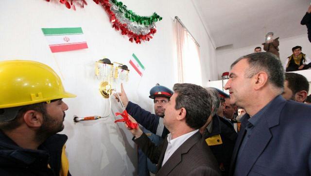 افتتاح و بهره برداری از پروژه های گازرسانی ارومیه با حضور استاندار آذربایجان غربی