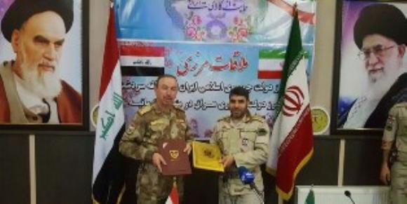 امضای تفاهم نامه همکاری و تحکیم روابط ایران و عراق