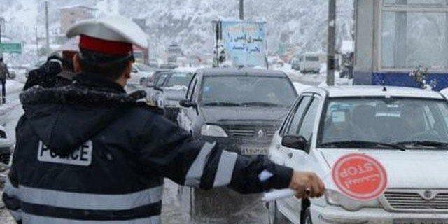 هشدار مجدد پلیس نسبت به سفر به استانهای غربی و جنوبی