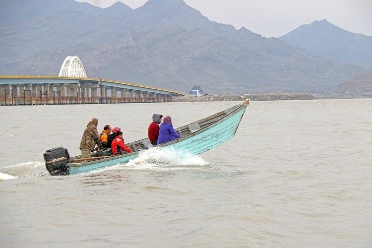 حال خوش دریاچه ارومیه در سایه روان سازی انتقال آب به پیکره