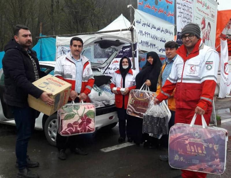 ارسال کمکهای نزدیک به ۴ میلیارد تومانی مردم آذربایجانغربی به مناطق سیلزده