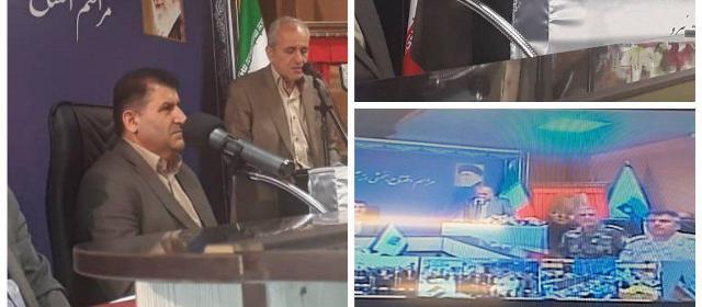 افتتاح ۳ طرح بزرگ عمرانی در پیرانشهر توسط رئیس جمهور