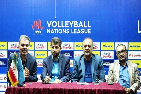تشریح آخرین وضعیت برگزاری مسابقات جهانی والیبال در ارومیه در یک نشست خبری