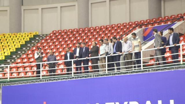 آمادگی کامل آذربایجان غربی برای برگزاری مسابقات لیگ ملت های والیبال ۲۰۱۹