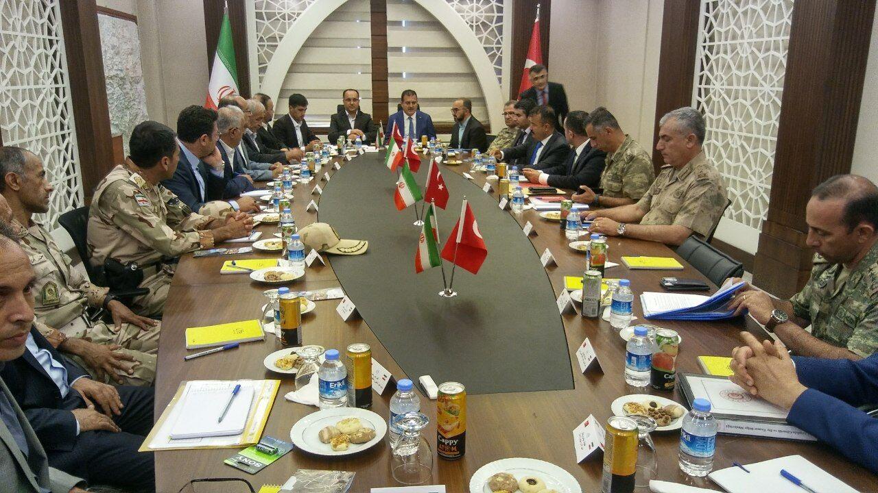 توسعه همکاریهای مرزی ارومیه و حکاری ترکیه