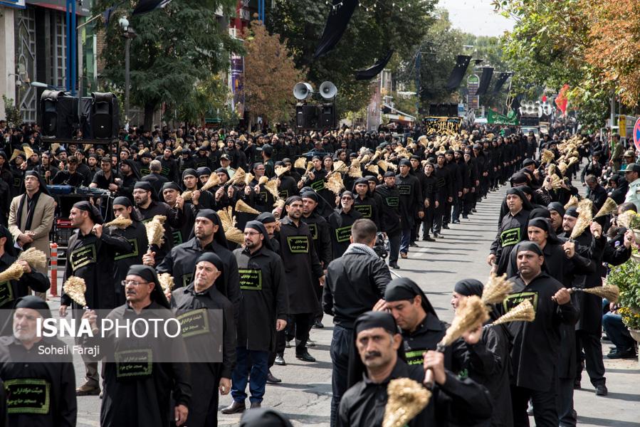 آذربایجان غربی در تاسوعای حسینی به سوگ نشست + تصاویر