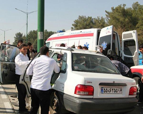 افزایش ۱۰۴درصدی مصدومان در سوانح جاده ای آذربایجان غربی